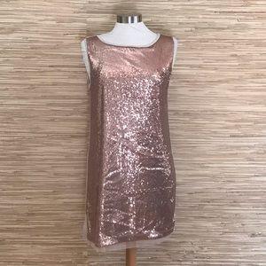 Michael Stars Sequin T-shirt Tank Dress